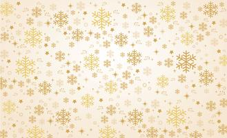snowflake winter banner background