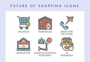 Zukunft von Einkaufsikonen
