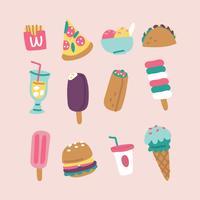Súper coloridas comidas de verano