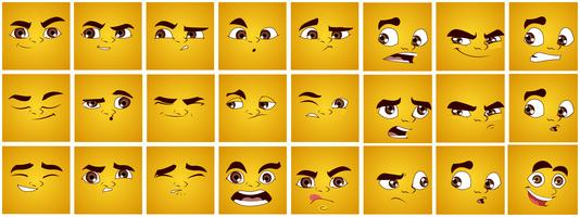 Set of Expressions vector
