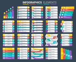 infografiska element inställda