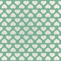 Vector Seamless Grunge Heart Pattern