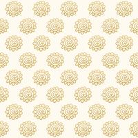 Vector Seamless Hand Drawn Tribal Boho Style Pattern