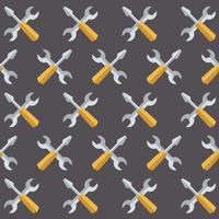 Vektor-nahtloses Service-Werkzeug-Art-Muster