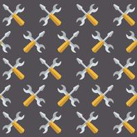 Vector Seamless Service Tool Style Pattern