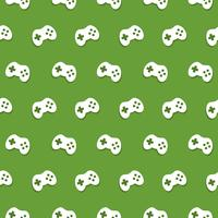 Vector Seamless Game Controller Pattern