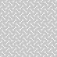 Weißer geometrischer kreisförmiger abstrakter nahtloser Musterhintergrund