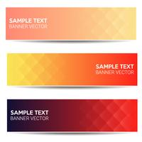 Abstract beautiful banner color gradient background