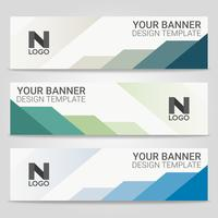 Abstract beautiful banner template background, Vector illustration ,Design for business presentation