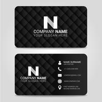 Vector Business Card Modern Design Template