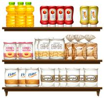 Food item on shelf