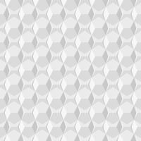 White geometric circular abstract seamless pattern backgroundPrint