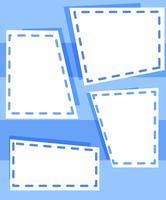 Conjunto de modelos azuis