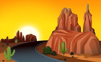 Uma viagem por estrada no oeste