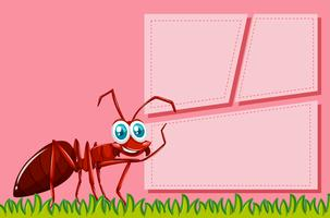 Red ant frame scene