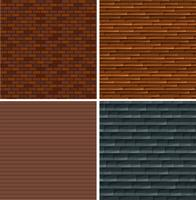 A set of brick wall background