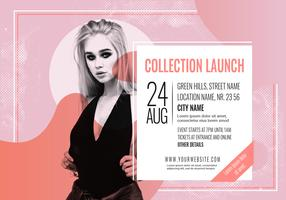 Vector Collection Launch Banner Template