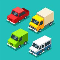 Isometric Car Vector