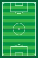 voetbal stadiun veld vector