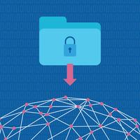 Security On The Web vector