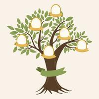 Árbol genealógico vectorial