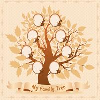 Family Tree Vector Design