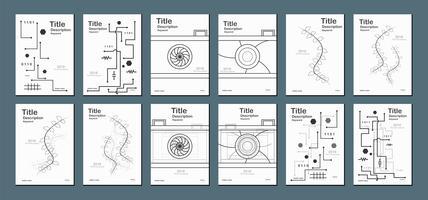 Vit modern abstrakt bakgrund med textutrymme för webbbanner, omslag, broschyr, bok och presentation.