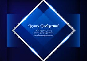 Fundo azul abstrato no conceito superior com espaço da cópia. Projeto do molde para a tampa, a apresentação do negócio, a bandeira da Web, o convite do casamento e o empacotamento luxuoso.