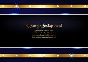 Abstract blue background in premium concept with copy space.Template design for cover, business presentation, web banner, wedding invitation and luxury packaging. vector
