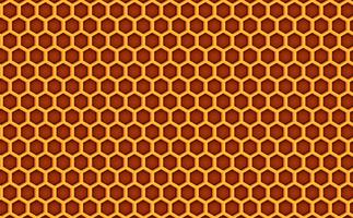Honey comb beehive pattern textured background. Vector illustration