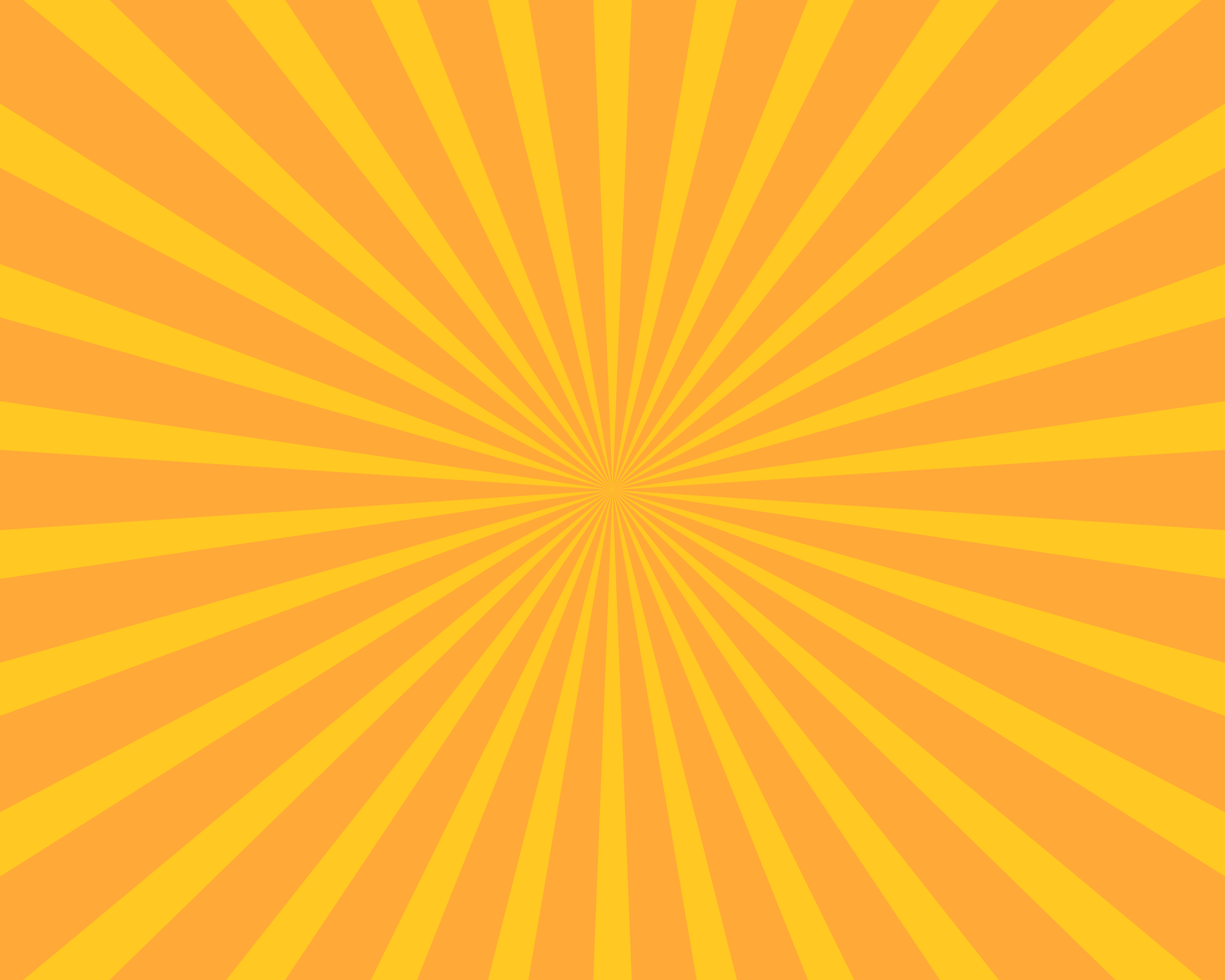 180110 01 Orange yellow sun burst vector background