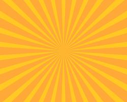 Yellow sun burst illustration vector background. Abstract and Wallpaper concept.
