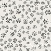 Patrón de fondo sin fisuras Concepto abstracto y clásico. Tema elegante diseño creativo geométrico. Ilustración vectorial Color blanco y negro