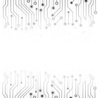 White abstract background with electronics circuit board. Grey abstract. Futuristic Technology and texture concept. Communication line system theme.