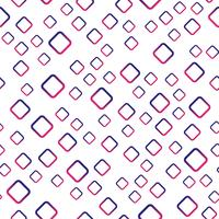 Seamless pattern background. Modern abstract and Classical antique concept. Geometric creative design stylish theme. Illustration vector. Purple and red tone color. Rectangle square shape
