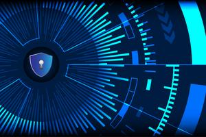 Cyber Security background vector