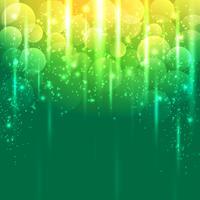 Luz verde e ouro amarelo abstract vector background
