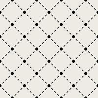 Patrón de fondo sin fisuras Moderno concepto abstracto y clásico antiguo. Tema elegante diseño creativo geométrico. Ilustración vectorial Color blanco y negro. Línea de conexión tecnológica y social.