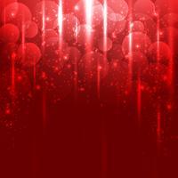Fundo de luz vermelha vetor abstrato