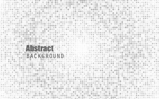 Abstrakter weißer Farbhalbtonhintergrund. Schwarz und Dunkelgrau. Hintergrund des modernen Designs für Berichts- und Projektpräsentationsschablone. Vektor-Illustration Grafik.