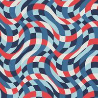 Vintage Nautical Striped Pattern vector