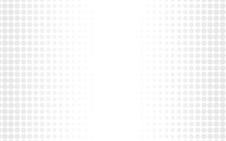 Weißer abstrakter Hintergrundvektor. Grau abstrakt. Hintergrund des modernen Designs für Berichts- und Projektpräsentationsschablone. Vektor-Illustration Grafik. Punkt- und Kreisform. Produktwerbung vorhanden