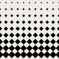 Seamless pattern background. Modern abstract and Classical antique concept. Geometric creative design stylish theme. Illustration vector. Black and white color. Rectangle square half tone shape vector