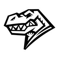 Dinosaurier-Tyrannosaurus Rex, T-Rex-Cartoon