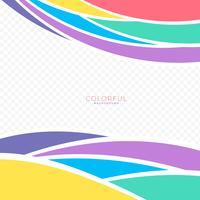 Arrière-plans colorés d'éléments abstraits