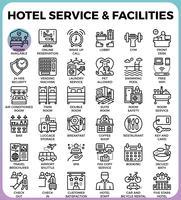 Servizio e strutture alberghiere