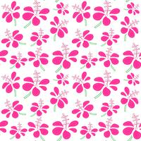 Seamless pattern with tropical flowers background. Vector illustrations for gift wrap design.