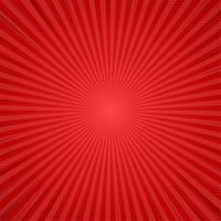 Red Comic Cartoon Background. Vector Illustration Design.