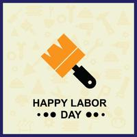 Labour Day Illustration for your Project