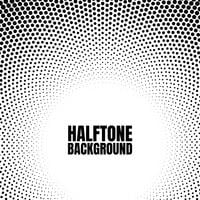 Halftone circle gradient background Modern look for business or comic texture vector